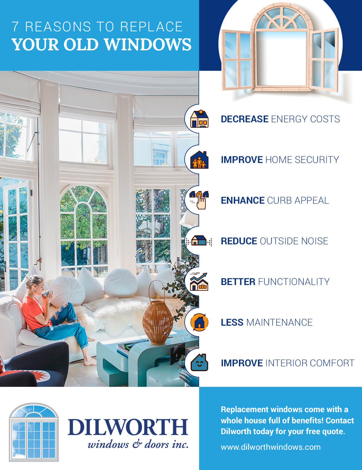 Seven Reasons to Replace Your Old Windows